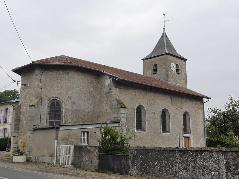 Jouy-en-Argonne (Meuse) église