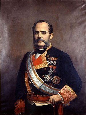 Juan Bautista Topete - Juan Bautista Topete by Rafael Monleón