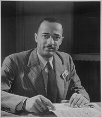 Judge William H. Hastie, dean of the Howard University Law School, Civilian Aide to the Secretary of War, ca. 1941 - NARA - 535835.jpg
