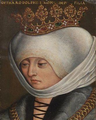 Judith of Habsburg - 16th century portrait by Anton Boys