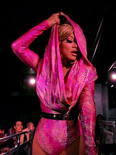 Jujubee (drag queen) American drag queen