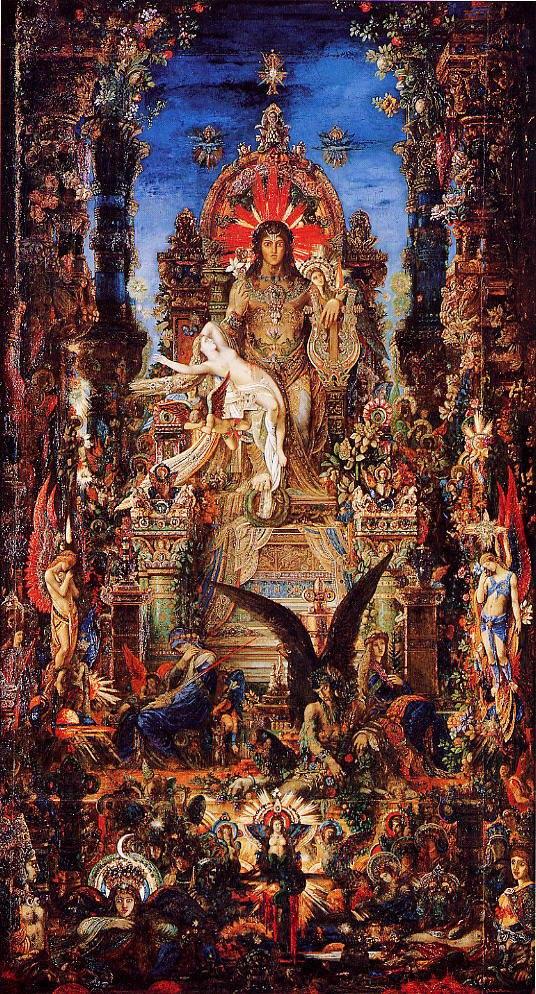 Jupiter and Semele - Gustave Moreau