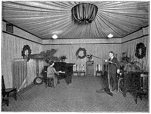 KDKA (AM) - As part of ongoing facility upgrades, this well-appointed studio went into service in December 1922.
