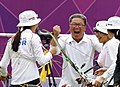 KOCIS Korea London Olympic Archery Womenteam 02 (7682353458).jpg
