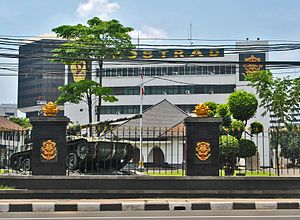 Kostrad - Kostrad Headquarters in Central Jakarta