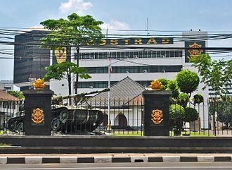 Kostrad - Kostrad Headquarters in Central Jakarta