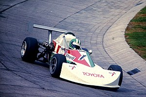 German Formula Three Championship - Image: KWS March Toyota Formel 3 Rudolf Dötsch 1976