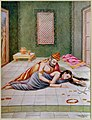Kaikeyi told Dasharatha that he must fulfil her wish.jpg