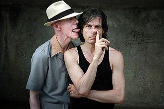 Kamagurka - Herr Seele and Kamagurka in 2004