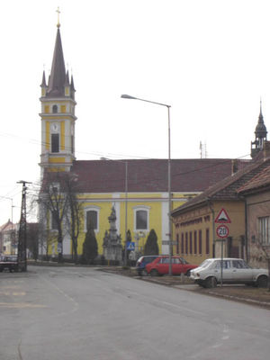 Kanjiža - Catholic church