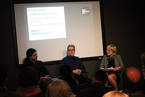 Particle Fever - David Kaplan, Mark Levinson, and Meredith Wadman discuss the film in New York City on January 2014.