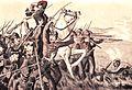 Karel van der Heijden verliest zijn oog tijdens het gevecht te Samalanga. Uit G. Kepper, 1900.jpg