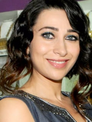 Karisma Kapoor - Kapoor's blue eyes have been identified by the Indian media as a trademark