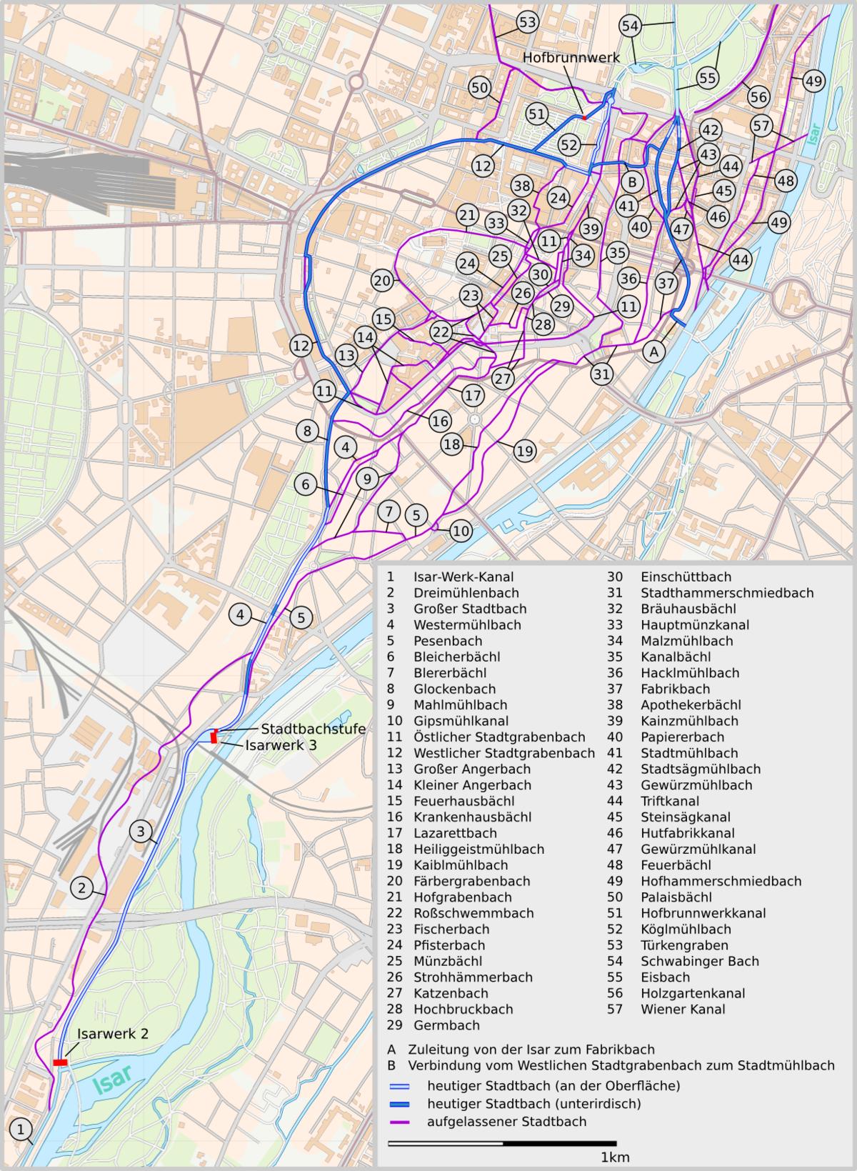 Munchner Stadtbache Wikipedia