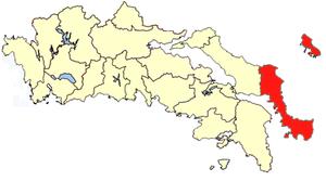 Karystia - Image: Karystia province