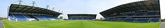 Kassam Stadium - View from the open end of the Kassam Stadium