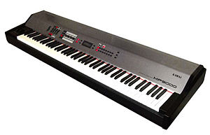 "Photo of Kawai's satge piano ""MP9000""."