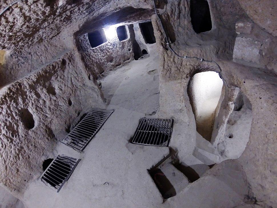Kaymakli underground city 8887 Nevit Compressor
