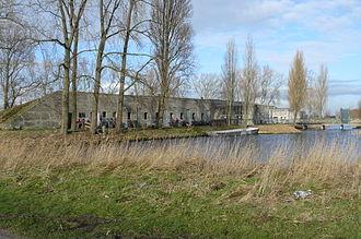 Stelling van Amsterdam - Fort south of Spaarndam.
