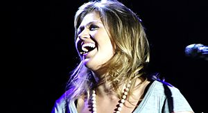 English: Kelly Clarkson live in Sudbury 2011