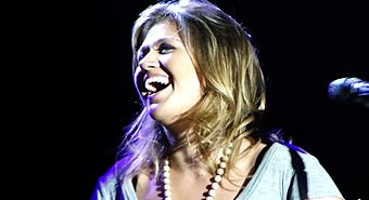 Two-time nominee, including one-time award winner Kelly Clarkson Kelly Clarkson live in Sudbury 2011.jpg