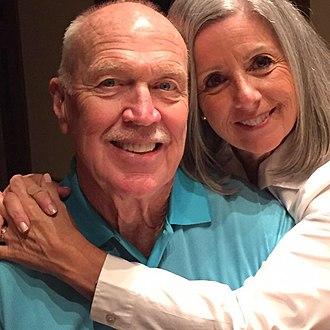 Ken Pepiot - Image: Ken Pepiot ans his wife Jane Kasaras