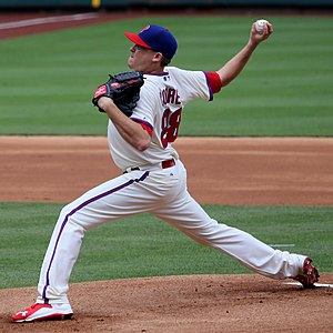 Kevin Correia - Correia with the Philadelphia Phillies