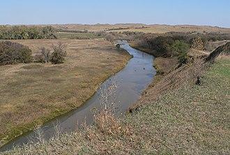 Keya Paha River - Keya Paha River near Nebraska-South Dakota border