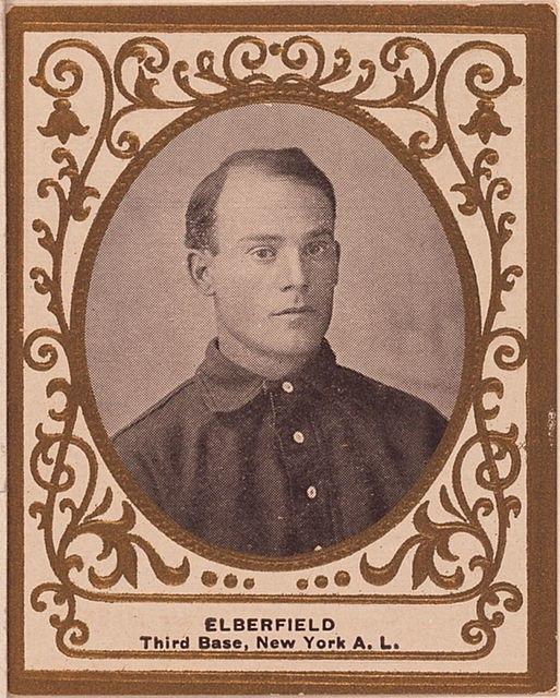 Kid Elberfeld Baseball Card