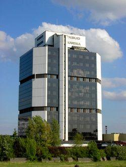 Budynek Exbudu, jeden z symboli dzisiejszych Kielc