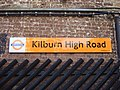 Kilburn High Road station signage.jpg