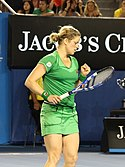 Kim Clijsters at the 2011 Australian Open1 crop.jpg