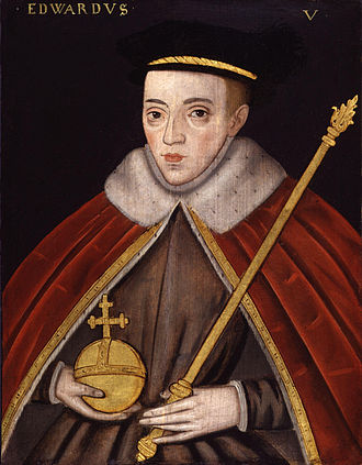 Edward V of England - Image: King Edward V from NPG