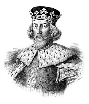 Sutton Bridge - King John of England (1166-1216).