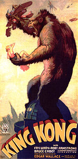 <i>King Kong</i> (1933 film) 1933 American monster adventure film