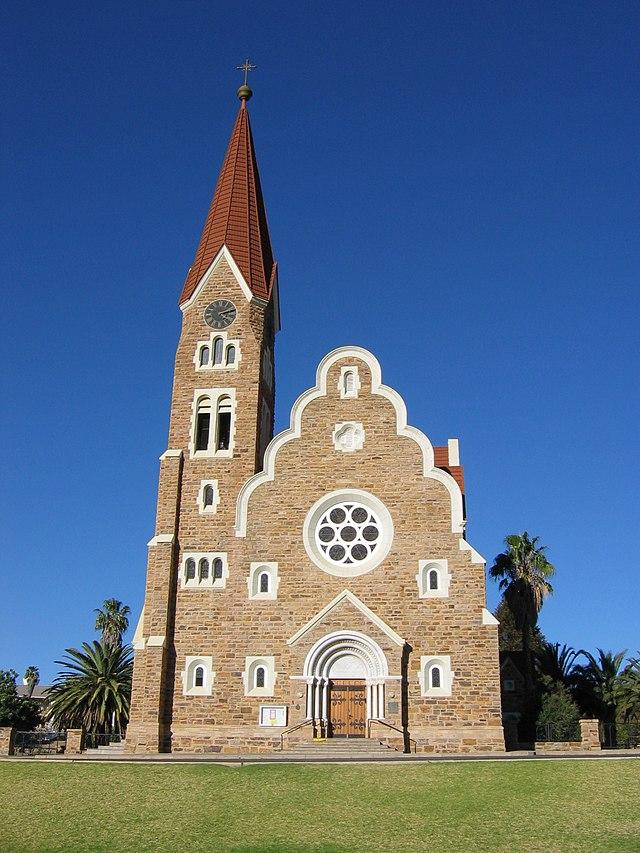 Christuskirche and Rider Memorial