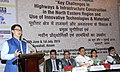 "Kiren Rijiju addressing a function - India on the Highway of Progress ""Key Challenge in Highways & Infrastructure Construction in the North Eastern Region and Use of Innovative Technologies & Materials"".jpg"
