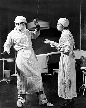 Alexander Kirkland - Alexander Kirkland and Margaret Barker in the Group Theatre's Broadway production of Men in White (1933)