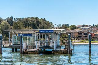 Kissing Point ferry wharf Sydney Ferries ferry wharf