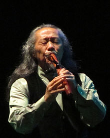 Description de l'image Kitaro tehran 2014 concert (1).JPG.