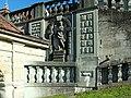 Kloster Einsiedeln. Arcade,.jpg