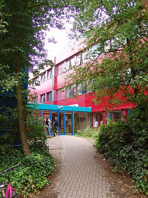 Utrecht School of the Arts - Entrance of the department in Hilversum