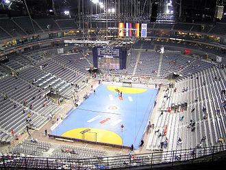 Lanxess Arena - Image: Koelnarena inside