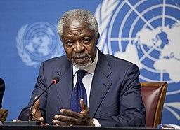 Kofi Annan 2012