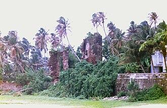 St Thomas Fort, Tangasseri - Image: Kollam Fort 2 nochmals verbessert JS