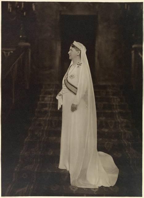 Koningin Wilhelmina najaar 1934