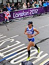 Konstadina Kefala (Greece) - London 2012 Women's Marathon.jpg