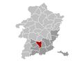 Kortessem Limburg Belgium Map.png