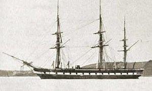 Eulenburg expedition - SMS Arcona