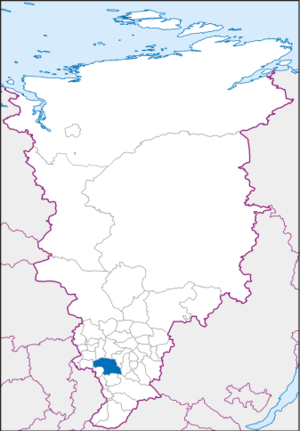 Balakhtinsky District - Image: Krasnojarski krai balakhtinsky
